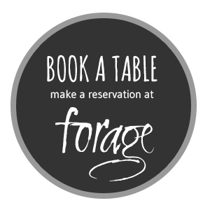 Book a table at Forage restaurant.